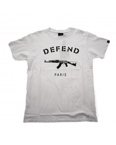 DEFEND PARIS PARIS TEE WHITE