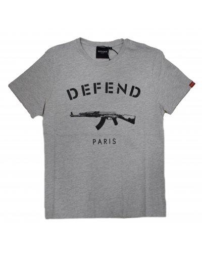 DFEND PARIS PARIS TEE GREY