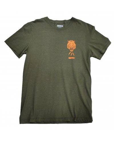 STANCE BREATHER TEE GREEN