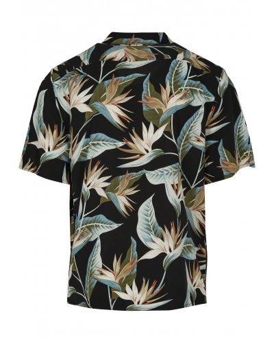 URBAN CLASSICS Blossoms Resort Shirt