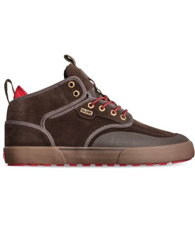 GLOBE Motley Mid Shoes Brown/Summit